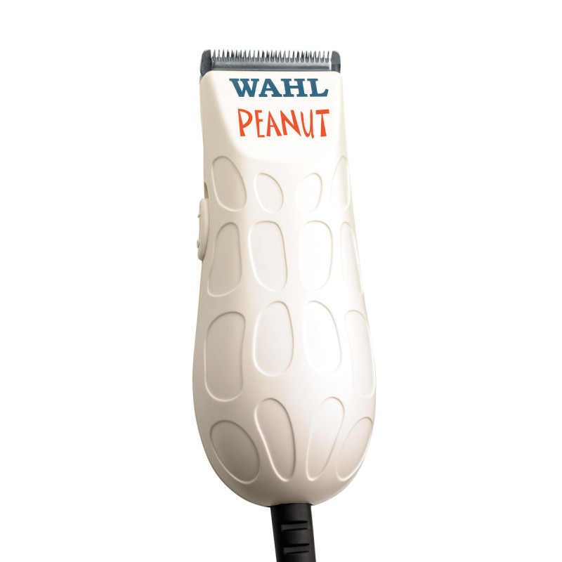 wahl peanut® (white) professional corded miniature clipper/trimmer #56115