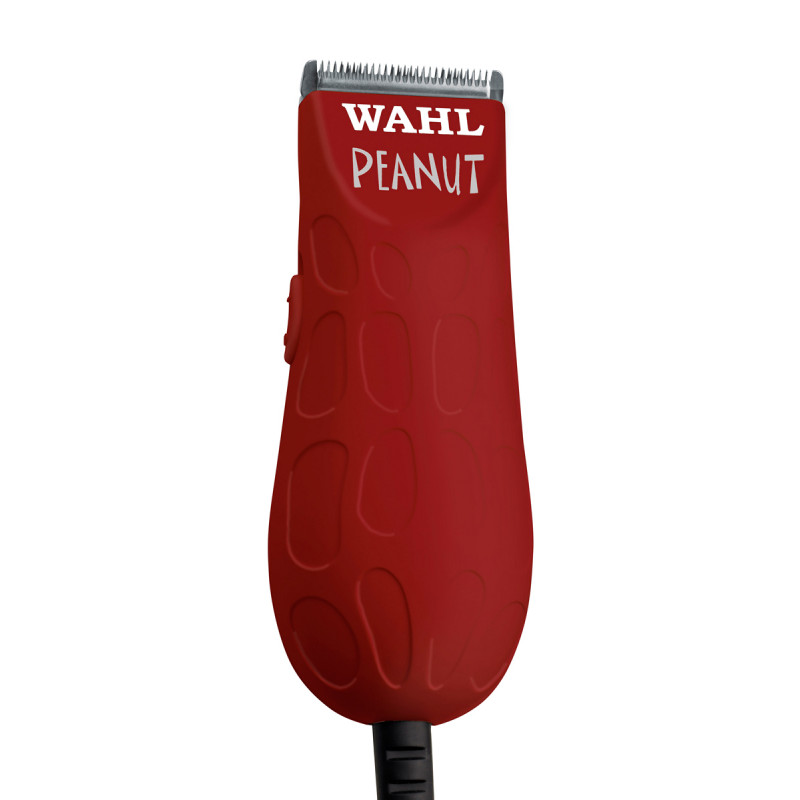 wahl peanut® (red) professional corded miniature clipper/trimmer