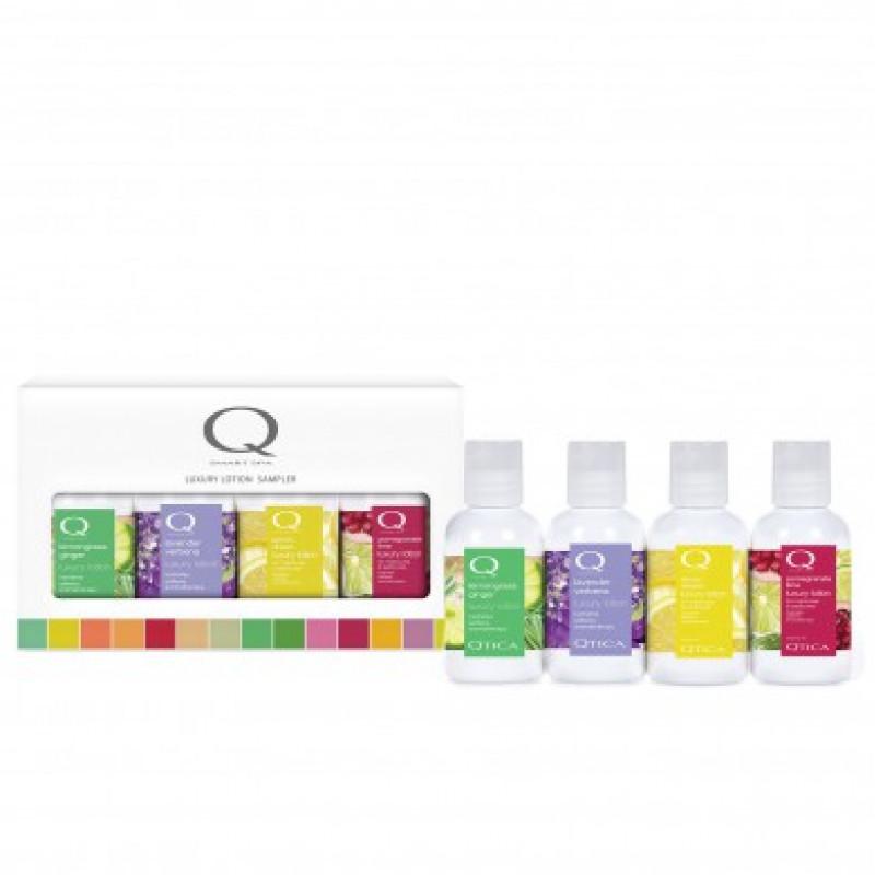 qtica clean & crisp smart spa luxury lotion 4pc mini