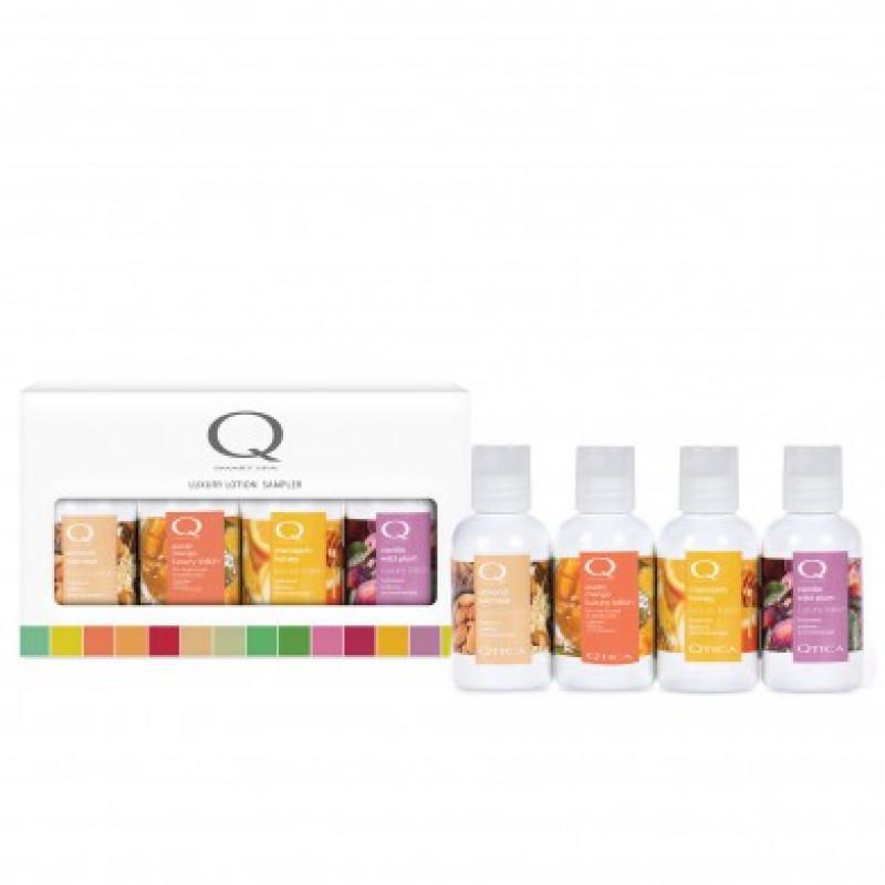 qtica sweet +  spicy smart spa luxury lotion 4pc mini