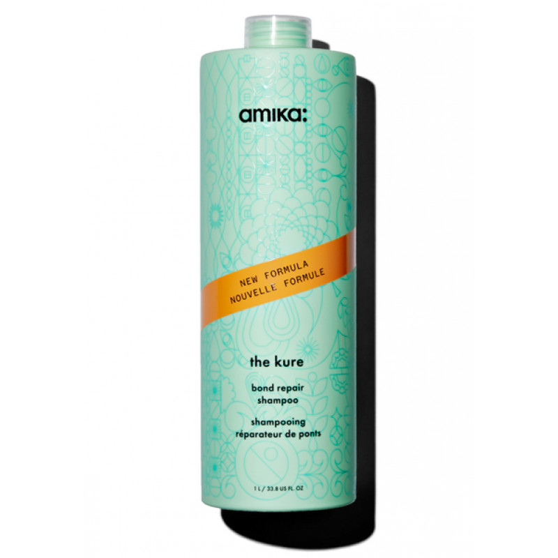 amika the kure bond repair shampoo 1000ml/33.8oz