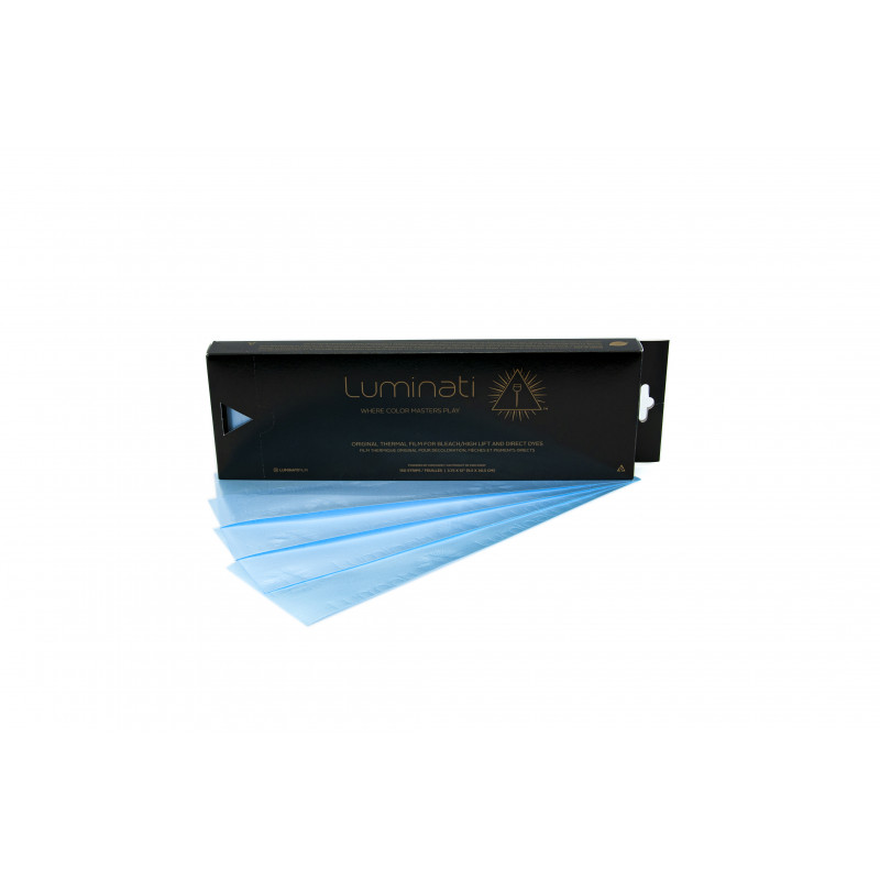 luminati thermal opaque highlighting strips 3 3/4x12 (blue) #lumiopaq12bl