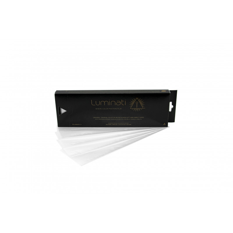 luminati thermal opaque highlighting strips  3 3/4x12 (white) #lumiopaq12wt