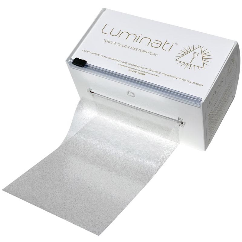 luminati clear thermal film 150' roll