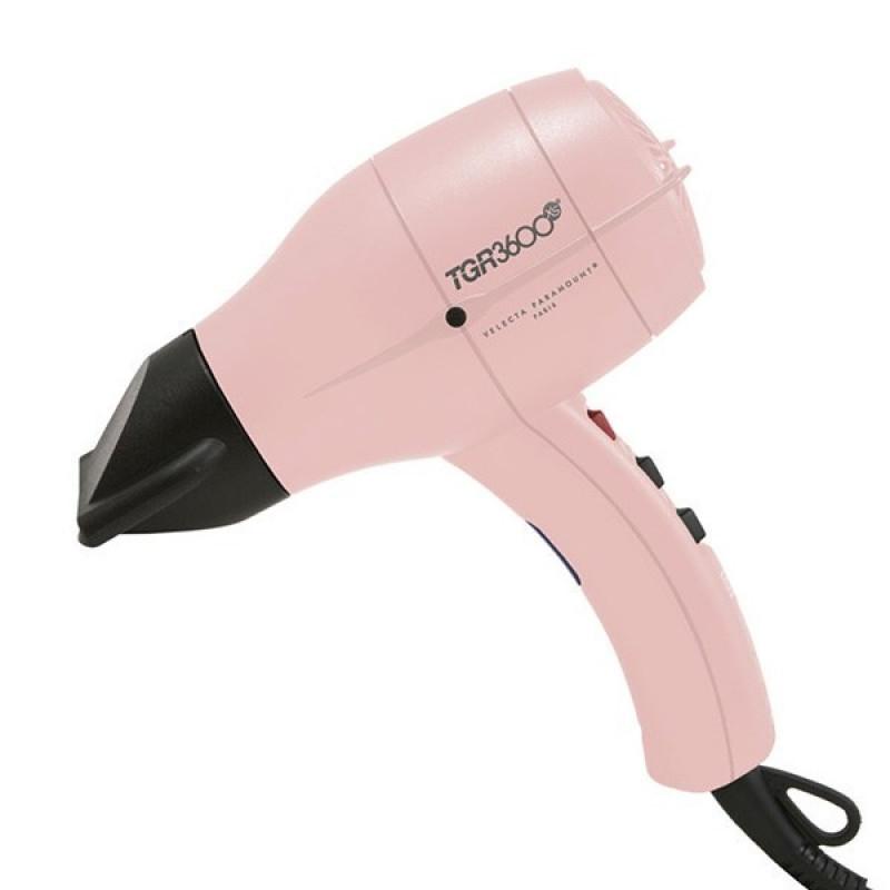 velecta paramount super lightweight compact pink hairdryer # tgr3600xspc