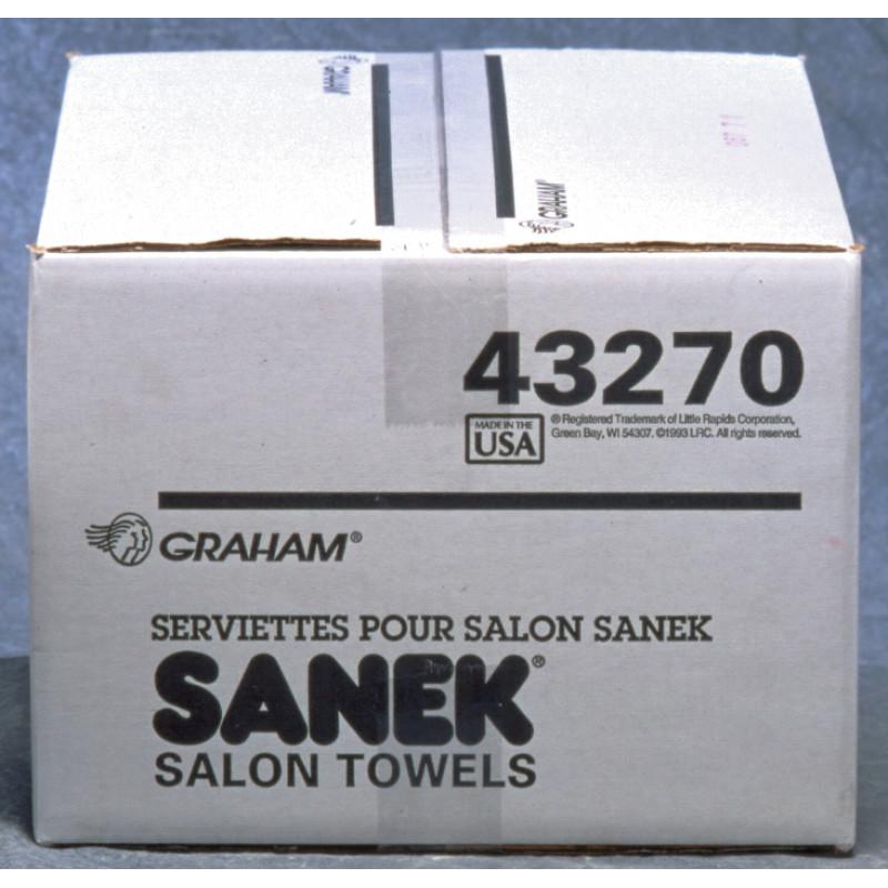 graham beauty premium quality multi-purpose paper towels 500pc # 43270c