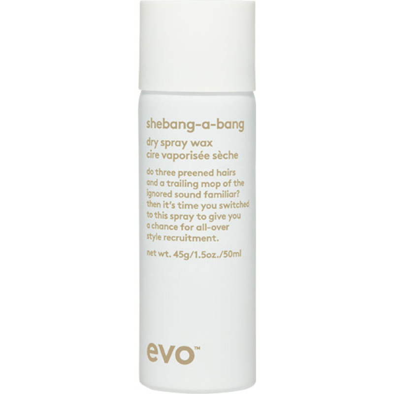 evo shebang-a-bang dry spray wax 50ml