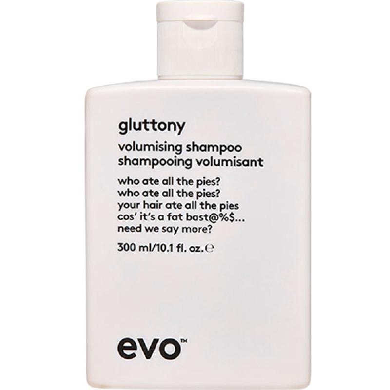 evo gluttony volumising shampoo 300ml
