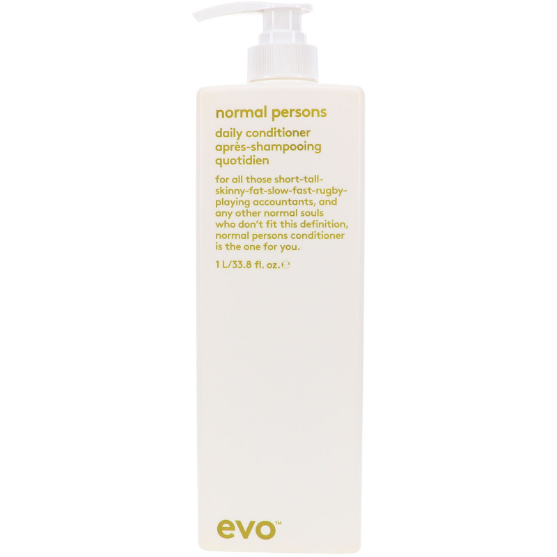 evo normal persons daily conditioner litre