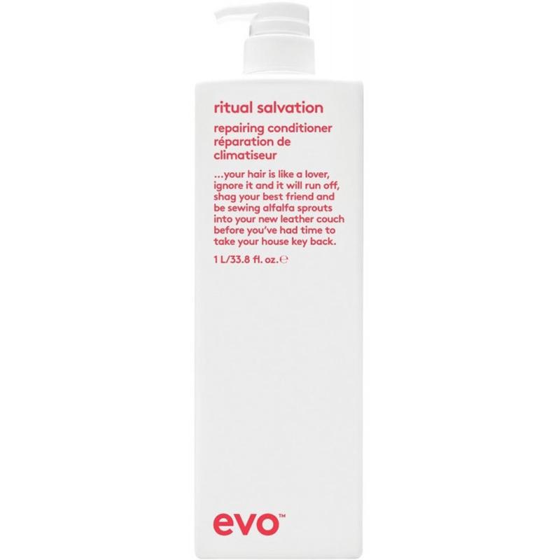 evo ritual salvation repairing conditioner litre