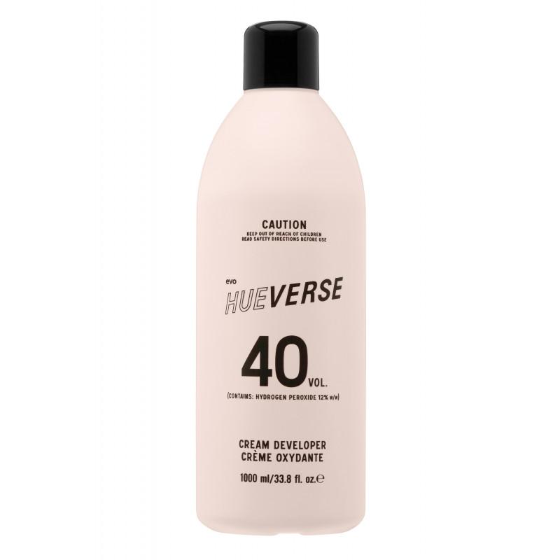 evo hueverse cream developer 40 vol (12%) litre