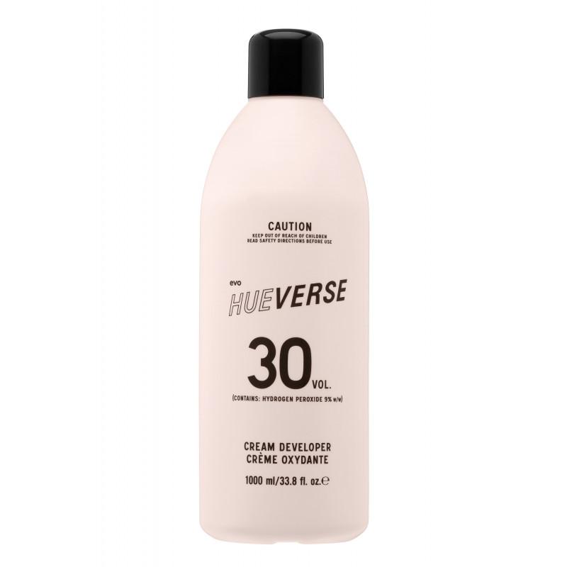 evo hueverse cream developer 30 vol (9%) litre