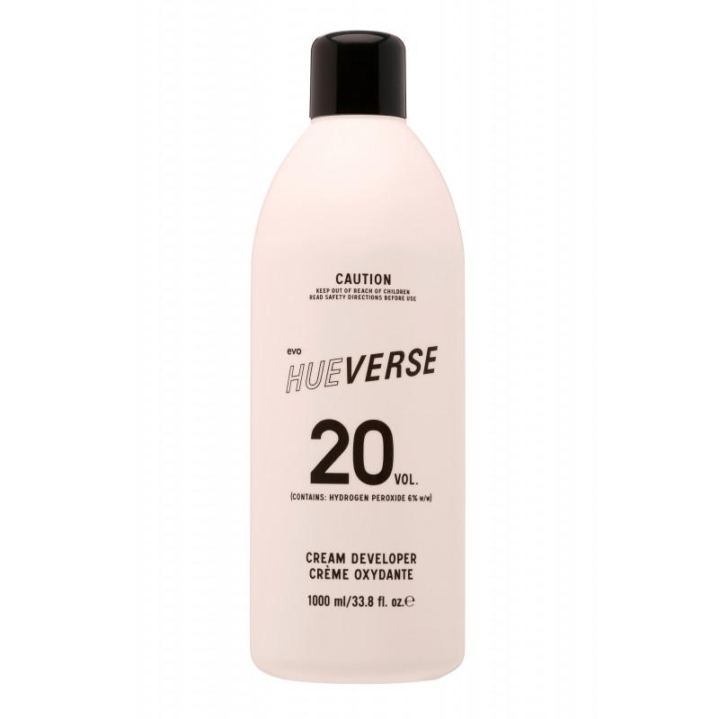 evo hueverse cream developer 20 vol (6%) litre