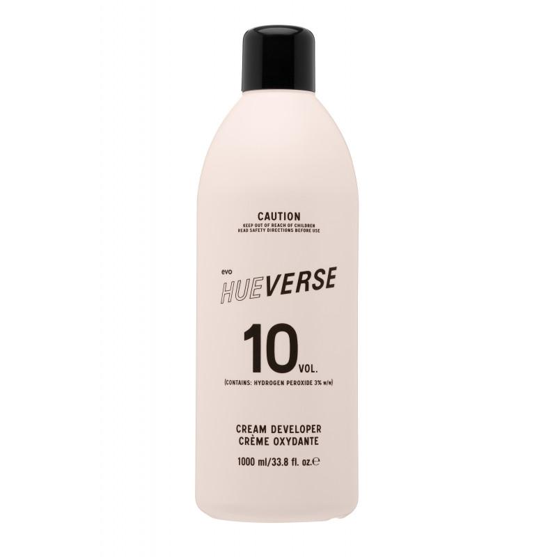 evo hueverse cream developer 10 vol (3%) litre