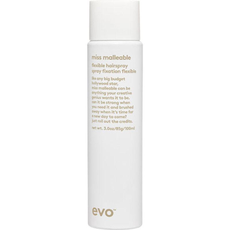 evo miss malleable flexible hairspray 100ml