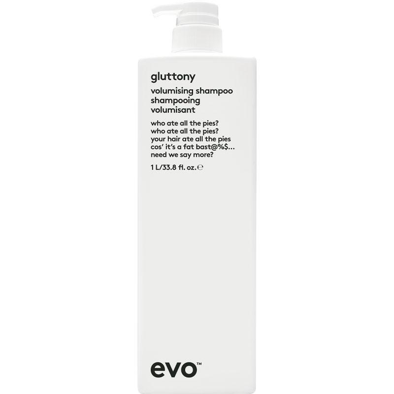 evo gluttony volumising shampoo litre