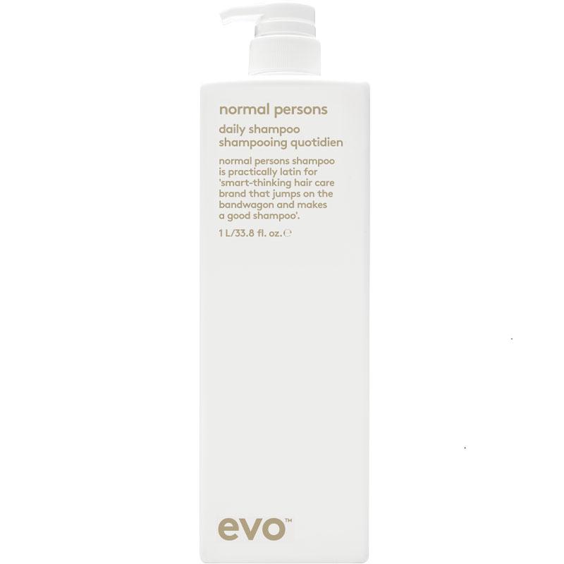 evo normal persons daily shampoo litre