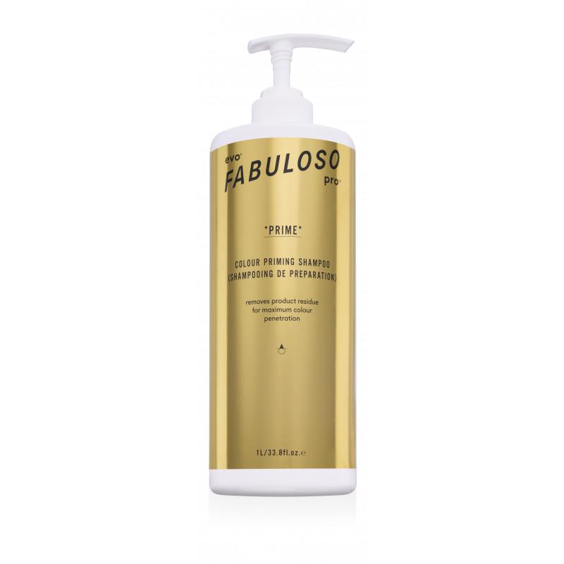 evo fabuloso pro prime shampoo litre