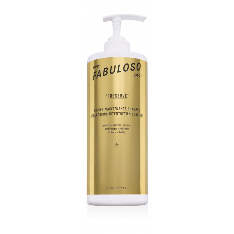evo fabuloso pro preserve shampoo litre