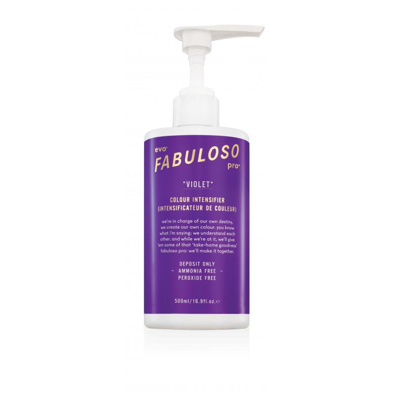evo fabuloso pro violet colour intensifier 500ml