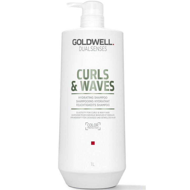 dualsenses curls & waves hydrating shampoo litre