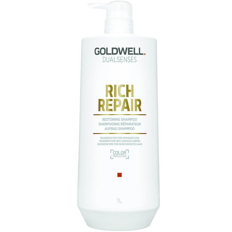 dualsenses rich repair restoring shampoo litre