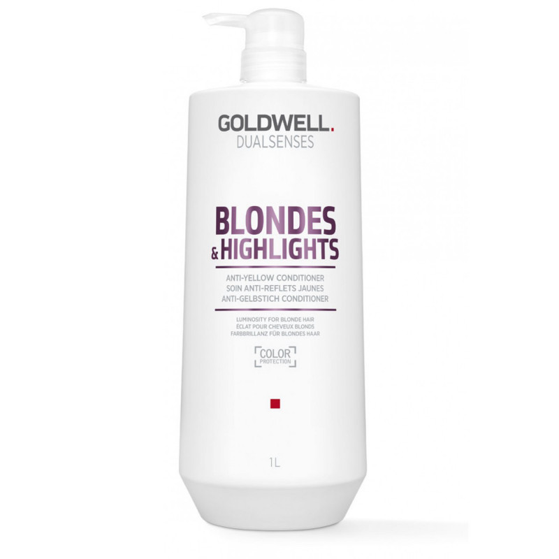 dualsenses blondes & highlights anti-yellow conditioner litre