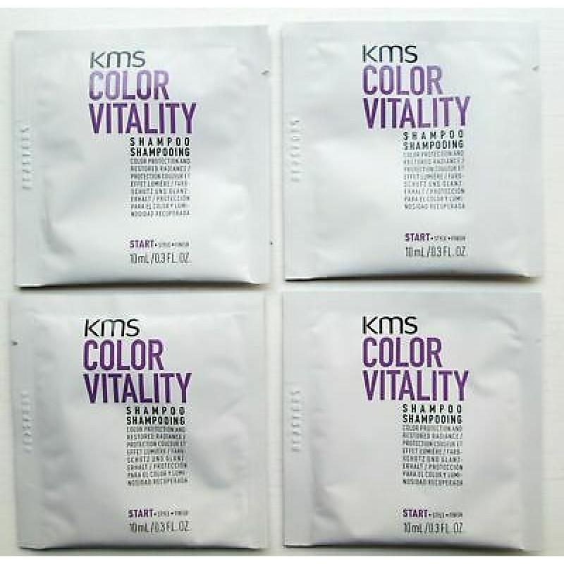 kms colorvitality shampoo sachet 10pc