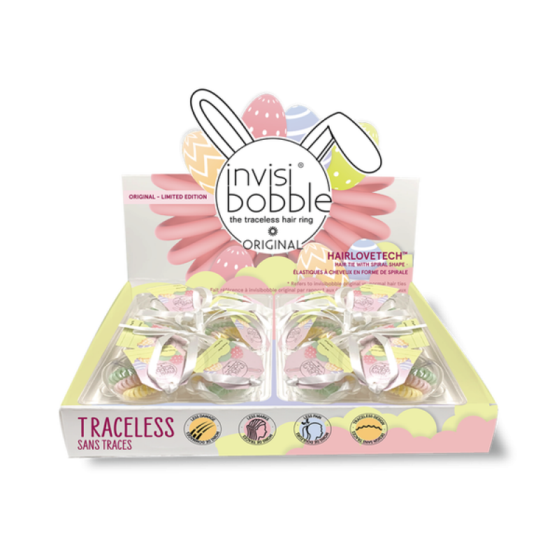invisibobble easter display 12pc