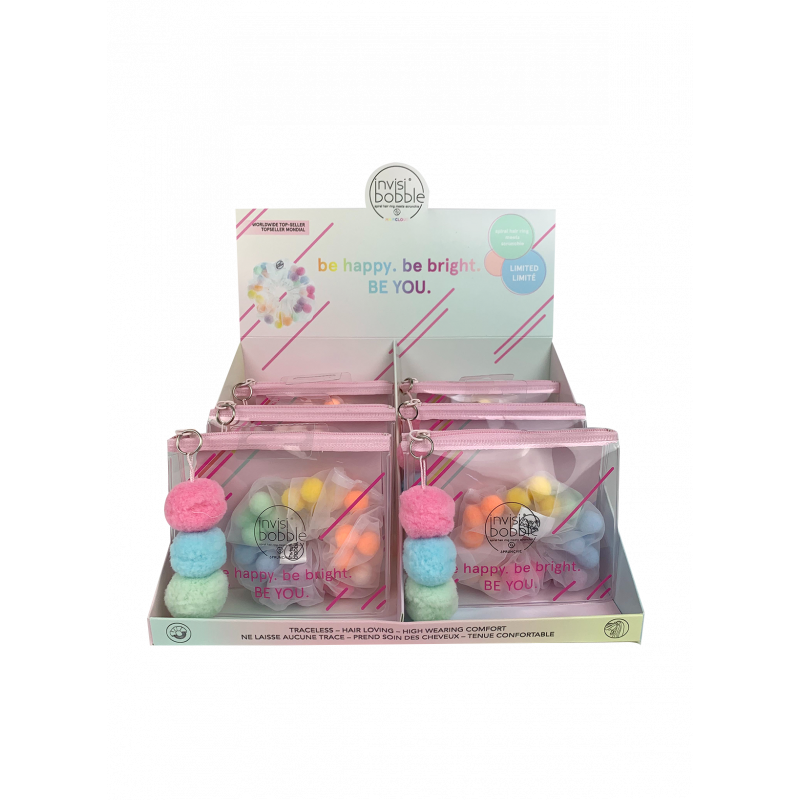 invisibobble sprunchie  pride haircloud display 12pc