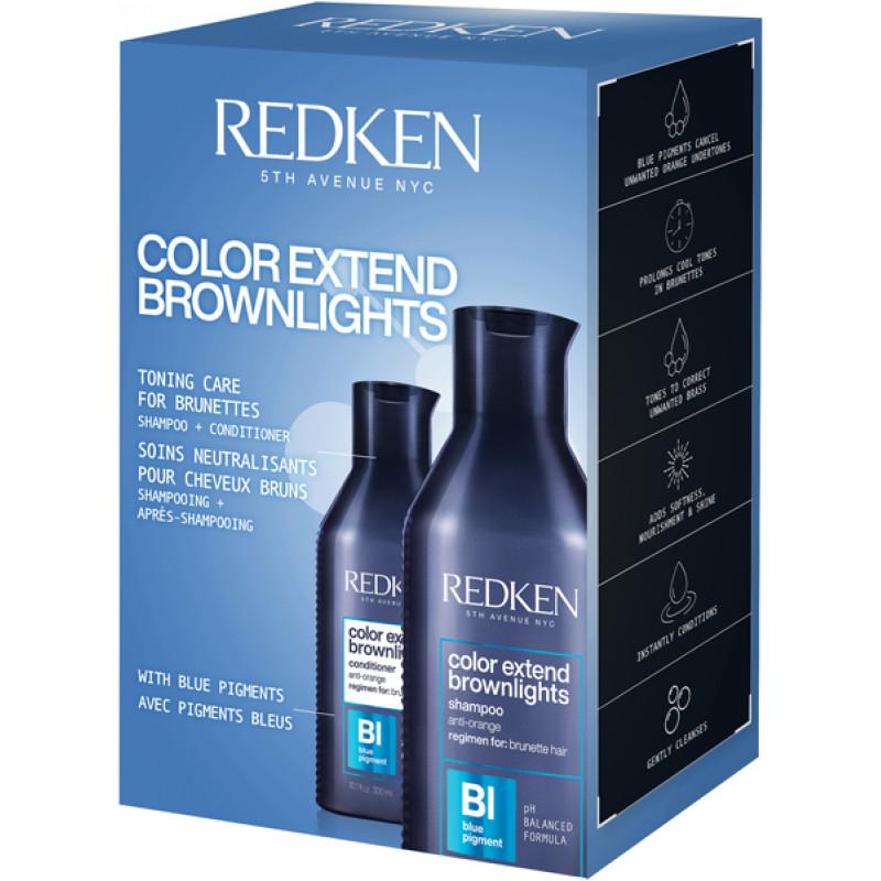 redken color extend brownlights summer duo 2021