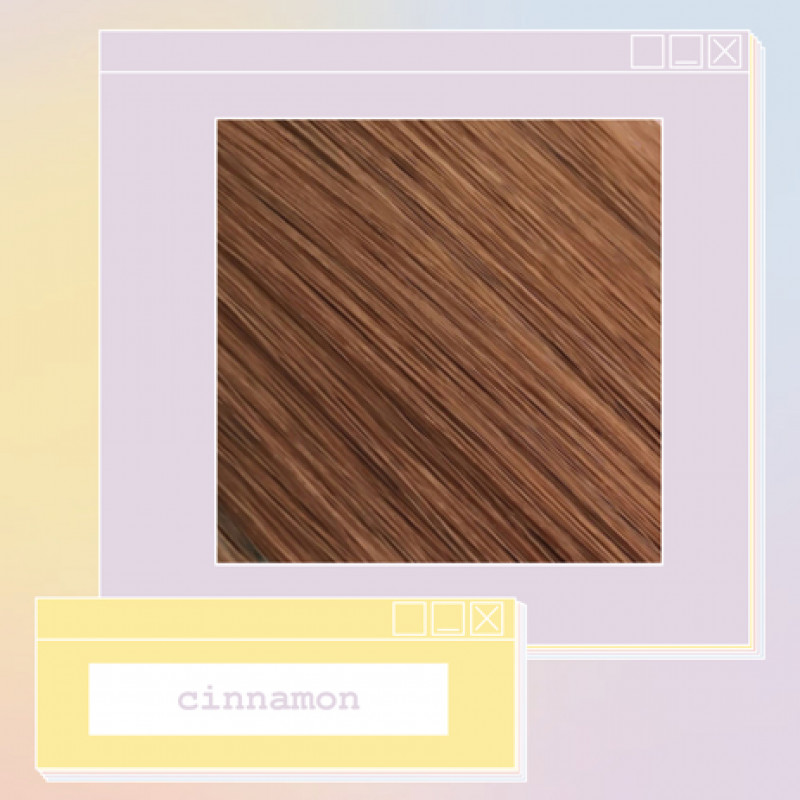 pony extensions hand tied cinnamon 18 inch