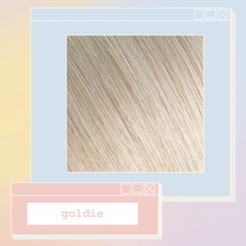 pony extensions hand tied goldie 18 inch