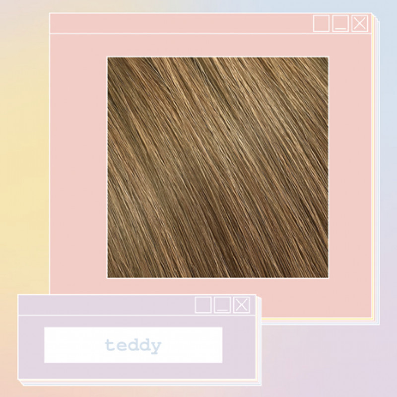 pony extensions hand tied teddy 18 inch