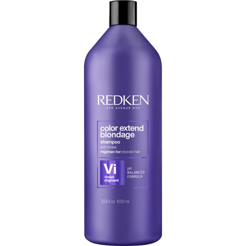 redken color extend blondage shampoo litre