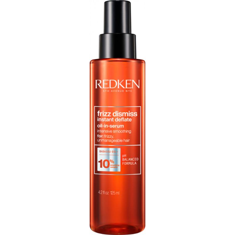 redken frizz dismiss instant deflate oil-in-serum 125ml
