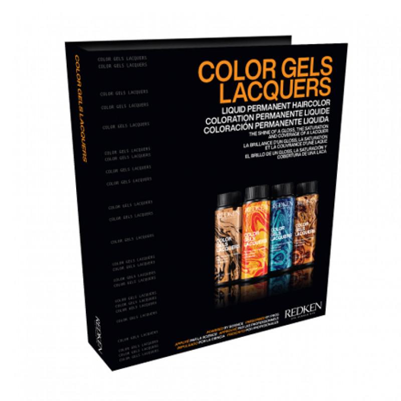 redken color gels swatch book 2021
