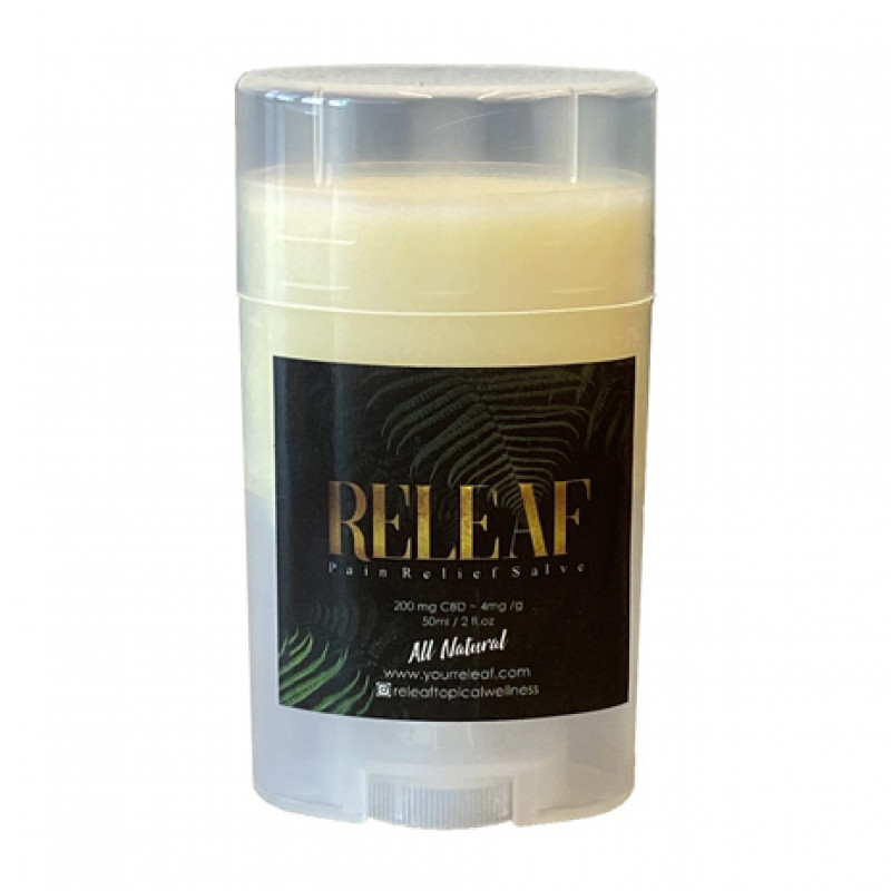 releaf topical pain relief salve 50ml