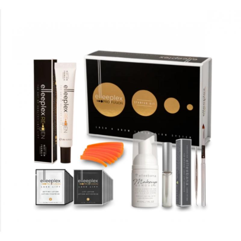 elleeplex pro fusion lash & brow lamination starter kit