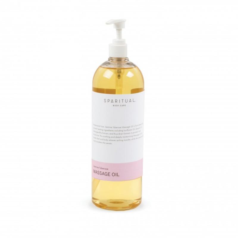 sparitual jasmine tuberose massage oil 33.8oz