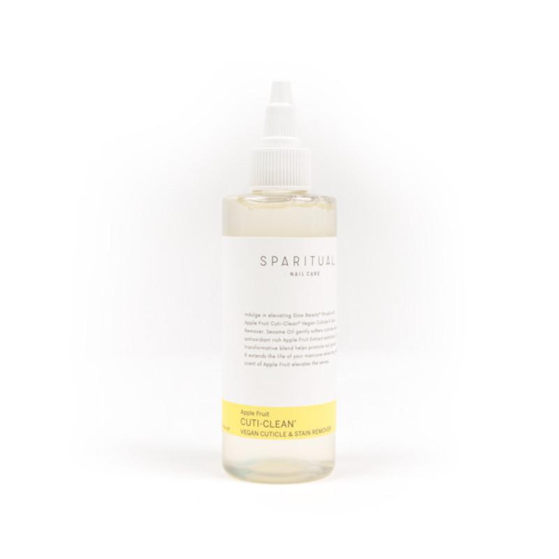 sparitual apple fruit cuti-clean vegan cuticle & stain remover 4oz