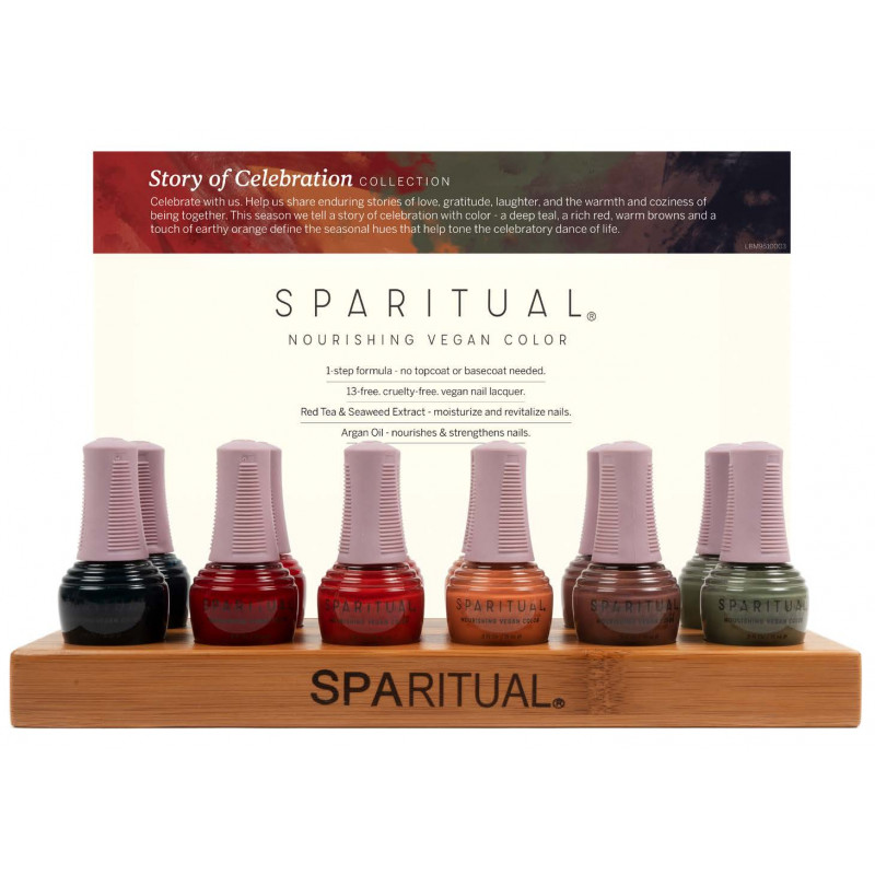 sparitual the story of celebration nourish polish collection 12 piece