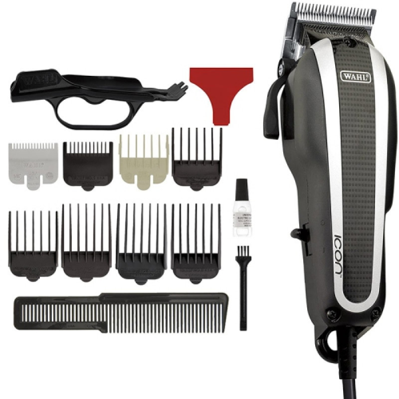 wahl icon clipper with battery trimmer #50359
