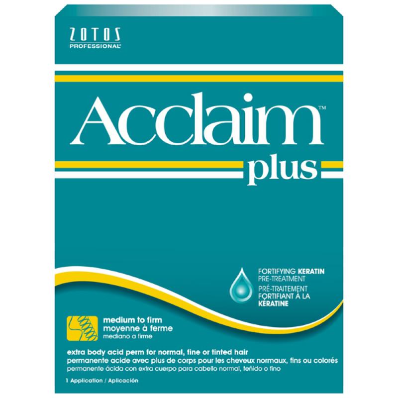 zotos acclaim acid plus extra body perm
