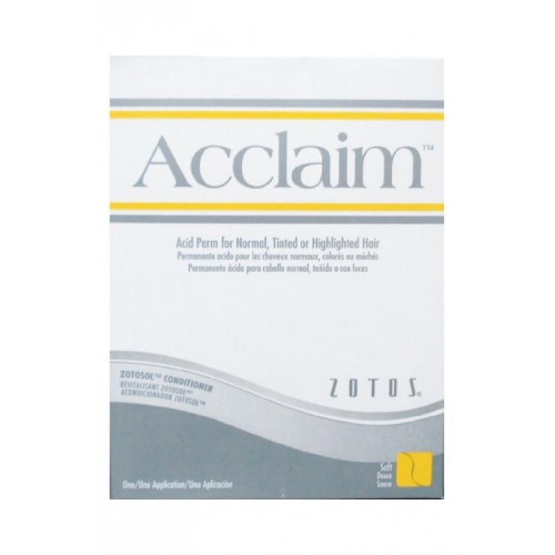 zotos acclaim acid regular perm