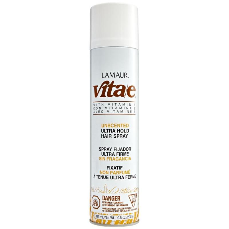 zotos vita-e ultra hold unscented hairspray 414 ml