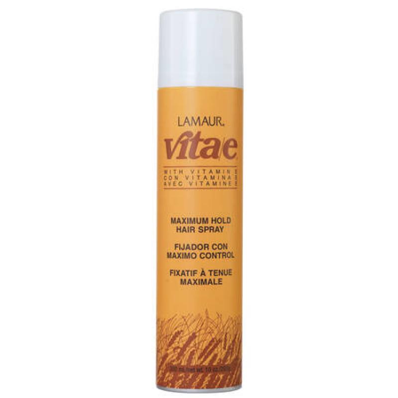 zotos vita-e maximum hold hairspray 438ml